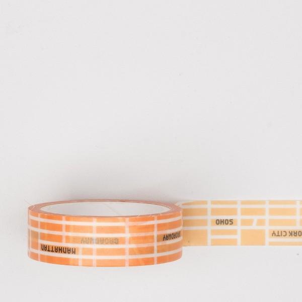 Paperways Masking Tape NYC Map