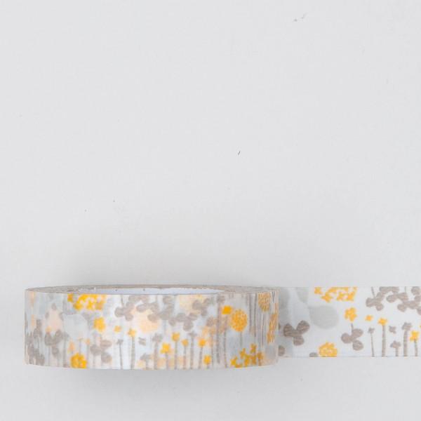 """Masking Tape """"kleiner Garten"""" beige"""