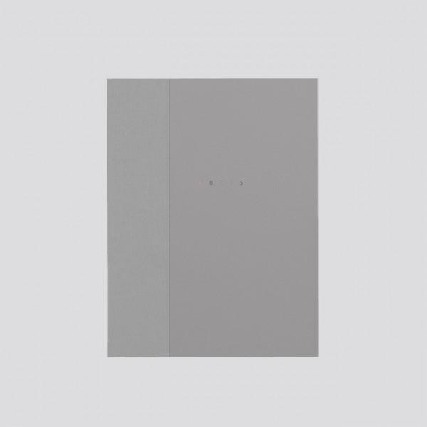 polnisches Notizbuch punktkariert grau