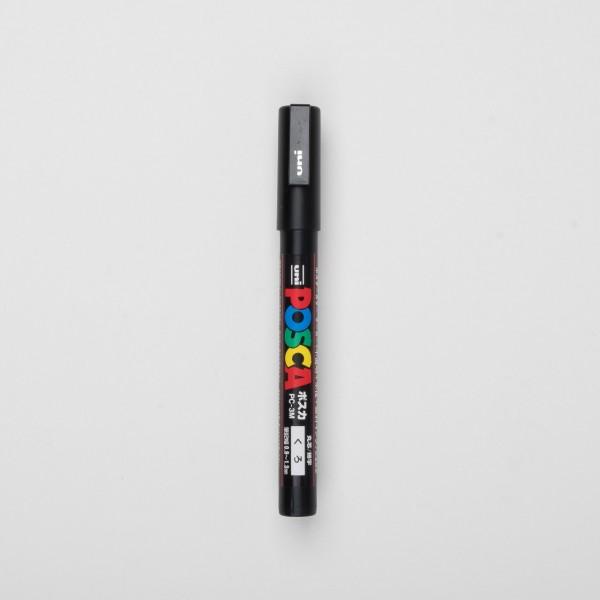 Uni Posca Marker PC-3M schwarz