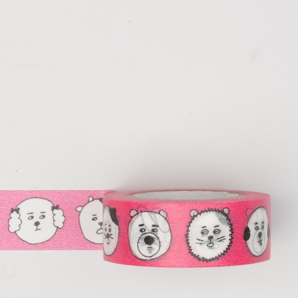 "Masking Tape ""Faces"" pink"
