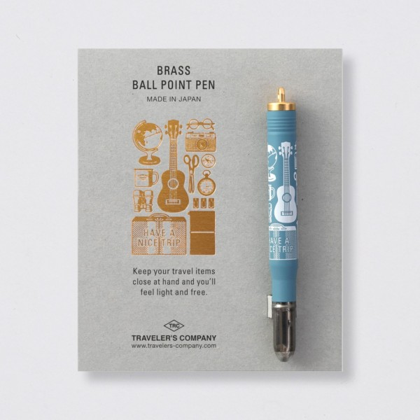 """Midori"" Traveler's Notebook ""Travel Tools"" Ballpoint"