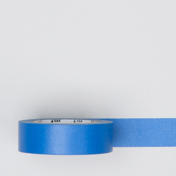 "Masking Tape einfarbig ""ruri"" blau"
