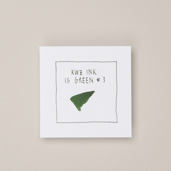 KWZ TInte IG Green #3