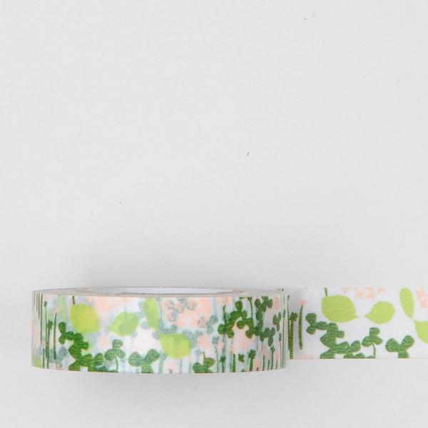 """Masking Tape """"kleiner Garten"""" grün"""