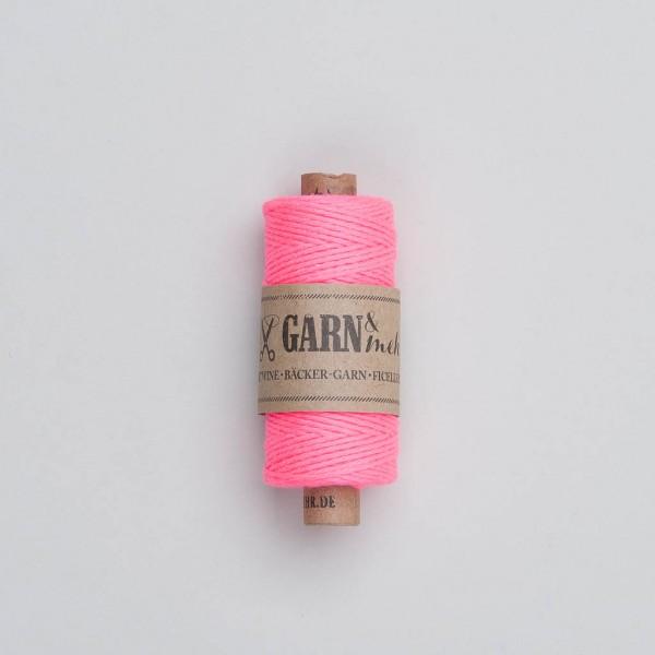 Garn & Mehr Bakers Twine in neon pink