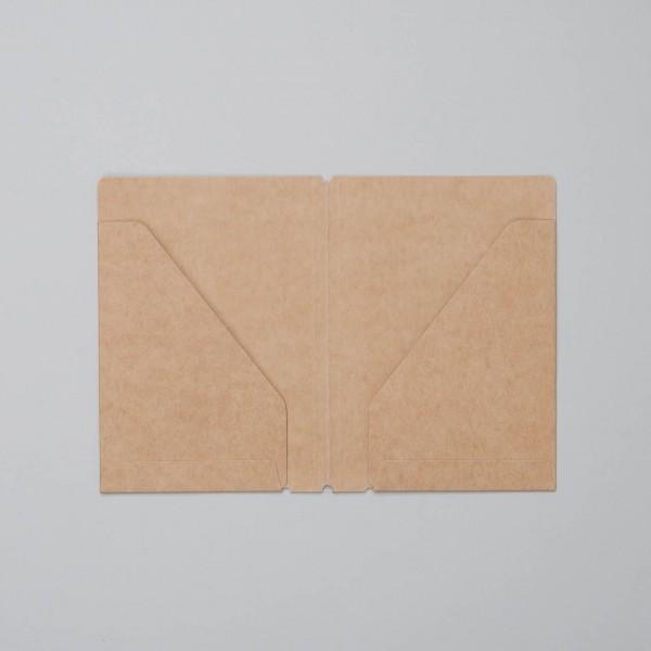 """Traveler's Notebook Refill Dokumententaschen """"010"""" Passport Size"""