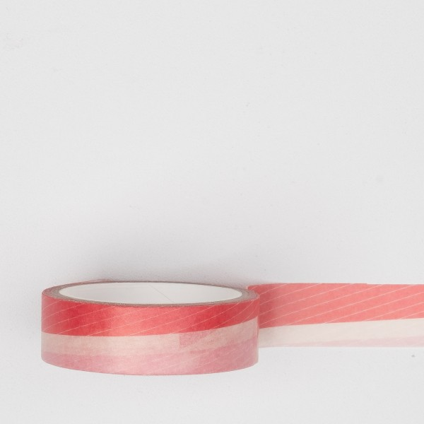 Paperways Masking Tape Pink Stripe