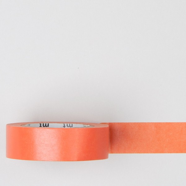 "Masking Tape einfarbig ""ninjin"" orange"