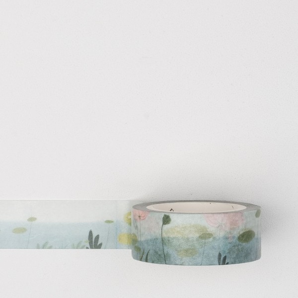 Masking tape sptf010 water lily