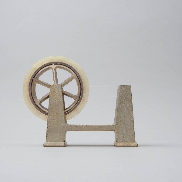"Futagami tape dispenser ""IHADA"" of solid brass ""large"""