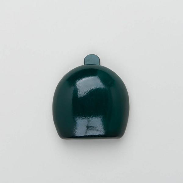Leder-Schüttelbörse flaschengrün