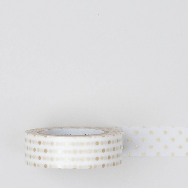 "Masking Tape ""Dot S"" gold"