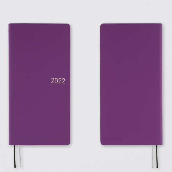 Hobonichi 2022 Kalender Weeks Nuance Juicy Grapes