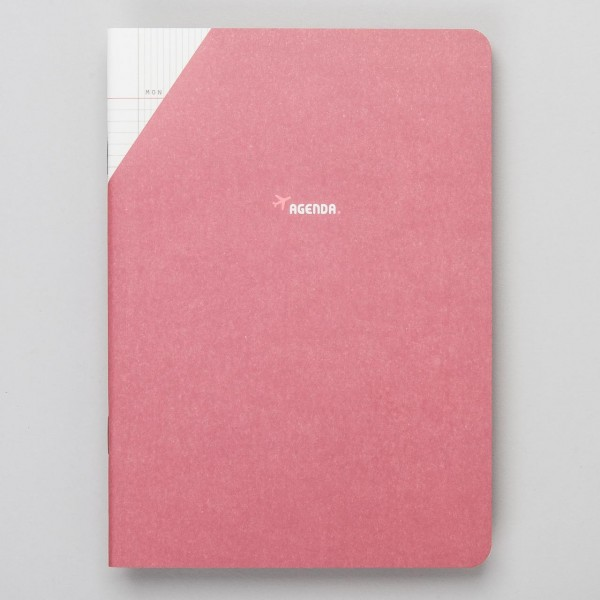 "Paperways COMPAT - Monatsplaner ""Agenda"" Rot"