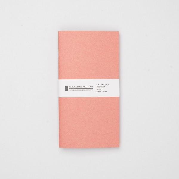 STORE ONLY: Traveler's Factory Einlage Regular Kraftpapier rosa