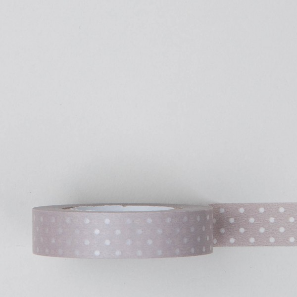 "Masking Tape ""Dot CL"" nebelrosa"