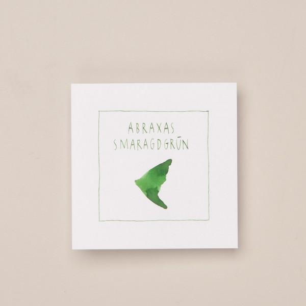 """Abraxas Schreib- und Zeichentinte """"Art Deco"""" in grün"""