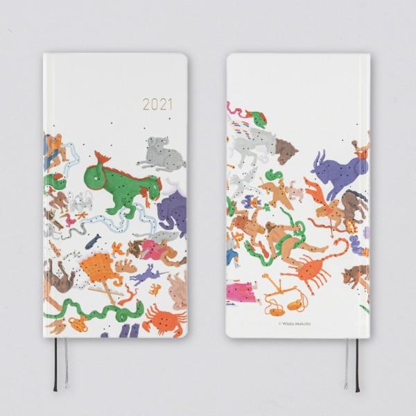 Hobonichi 2021 Kalender Weeks Makoto Wada Embrace the Constellations