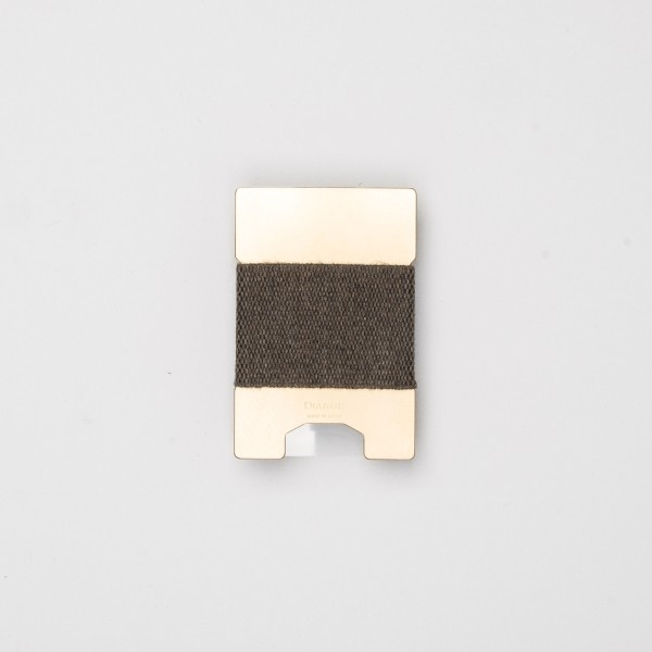 Diarge Metallplatten-Kartenhalter