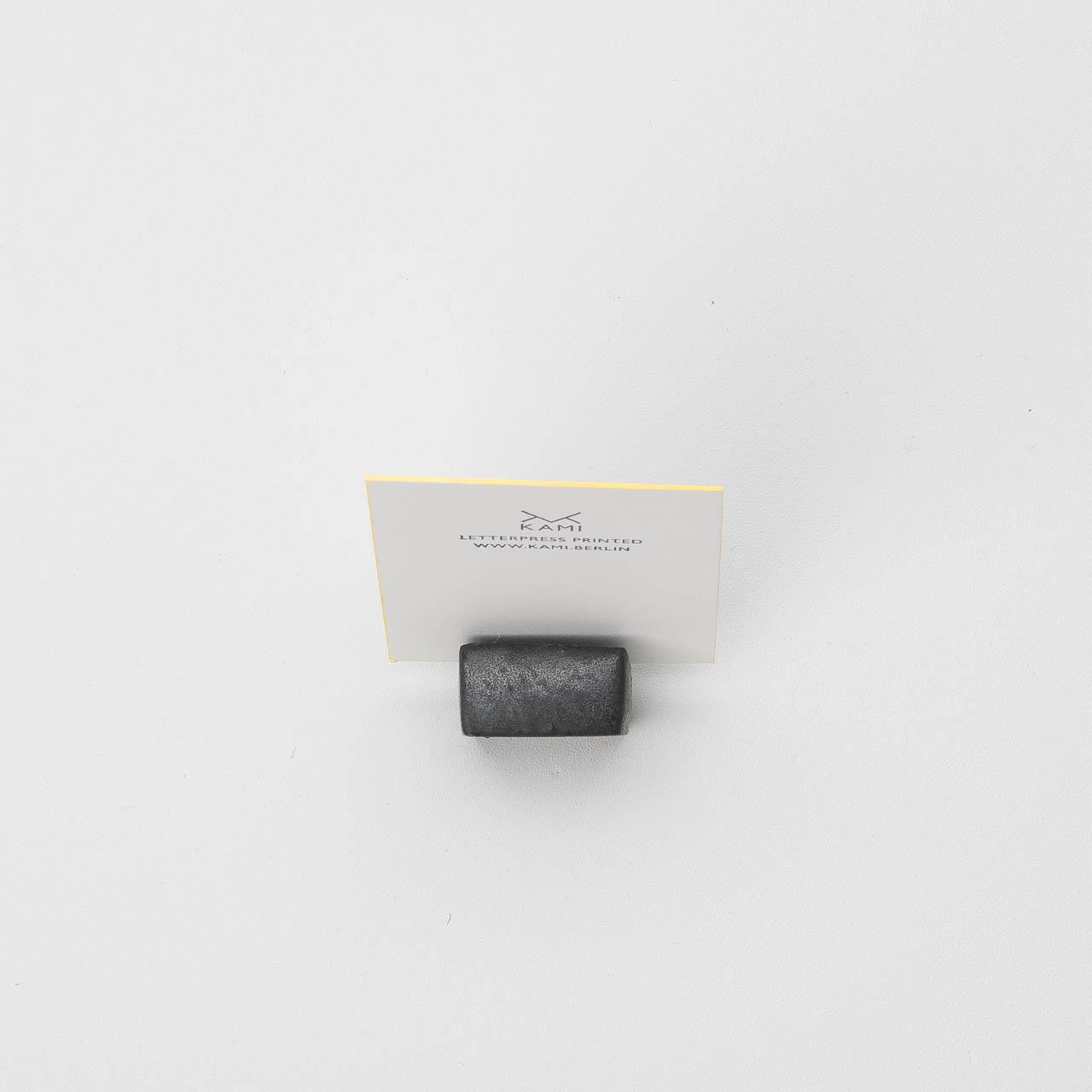 Kami Ceramic Card Holder Black 1 Pc