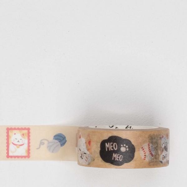 Masking Tape la029 cats