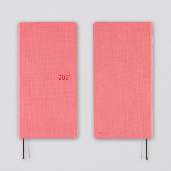 Hobonichi 2021 Kalender Weeks Mega Colors: Cherry Blossom