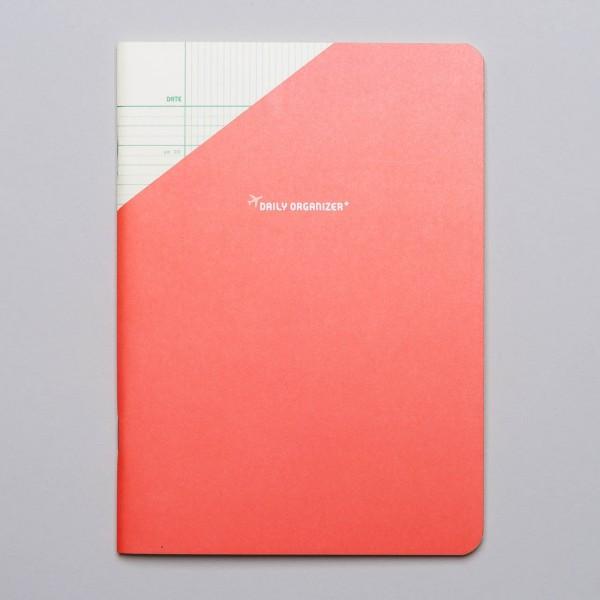 "Paperways COMPAT - Tagesplaner ""Daily Organizer"" in korallrot"