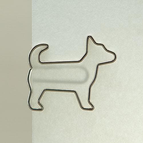 """D-Clip Stahlbüroklammer """"Doggy"""" (30 St.)"""