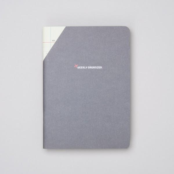 """Paperways COMPAT - Wochenplaner """"Weekly Organizer"""" Braun"""