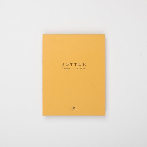 Postalco Jotter Notizblock senfgelb