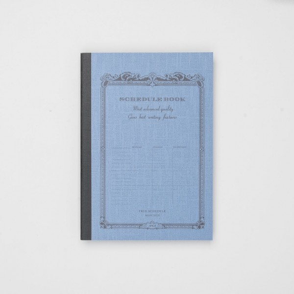 "APICA Freier Monatsplaner ""Schedule Book"" (A5)"