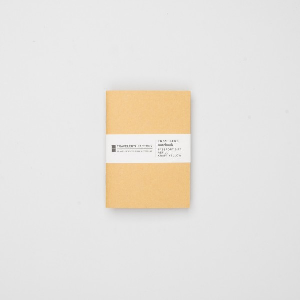 STORE ONLY: Traveler's Factory Einlage Passport Kraftpapier gelb