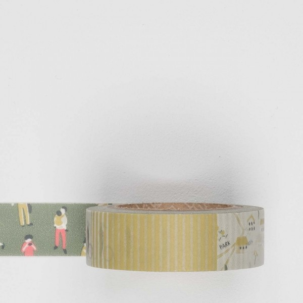Dailylike Masking Tape 70 camping map