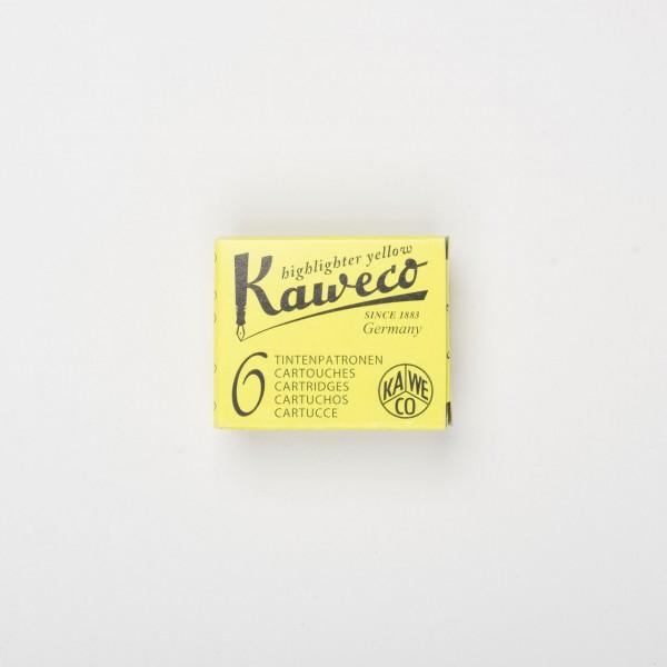 KaWeCo Tintenpatronen leuchtmarker gelb (6 St.)