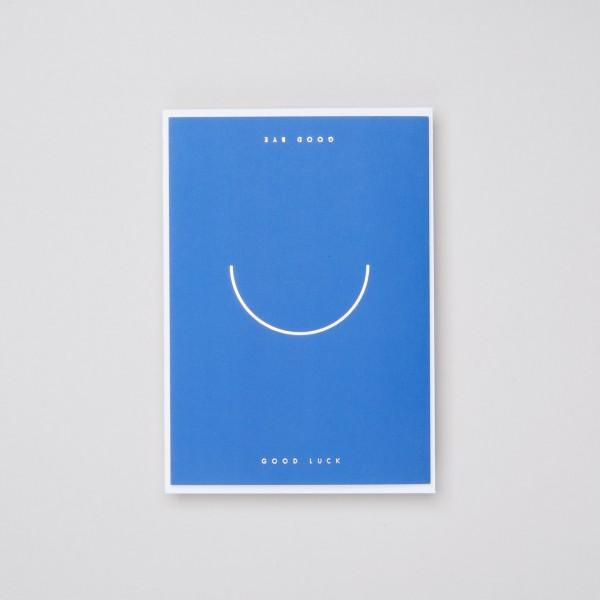 """Thie Studios Grußkarte """"Good bye & smile"""""""