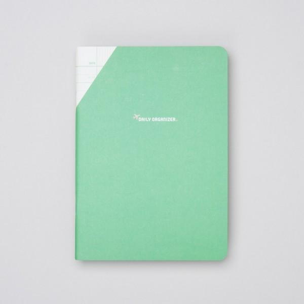 """Paperways COMPAT - Tagesplaner """"Daily Organizer"""" Grün"""