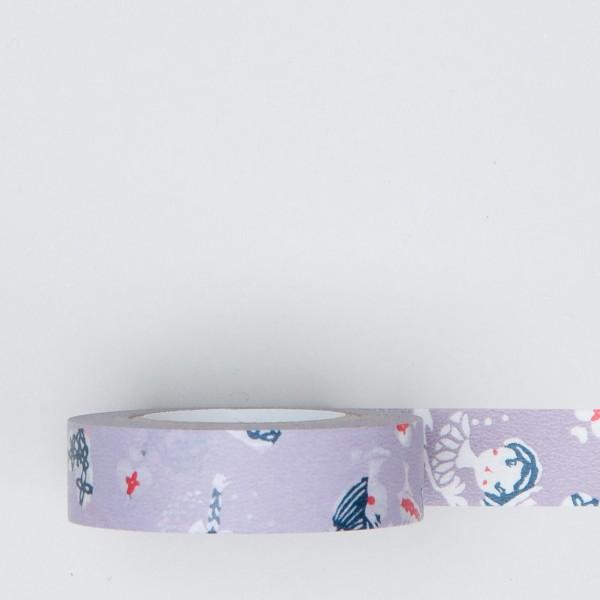 """Masking Tape """"Mädchen und Herzen"""" lila"""