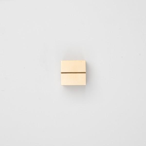 Diarge Stift- und Kartenhalter aus Messing