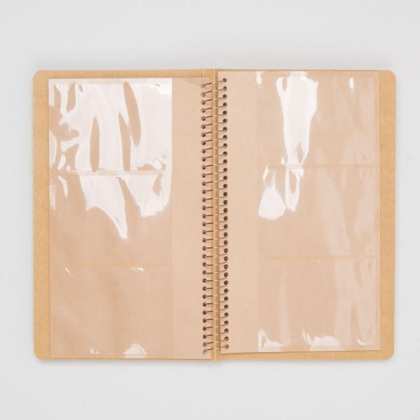 Midori Spiralringbuch Card File A5 Slim