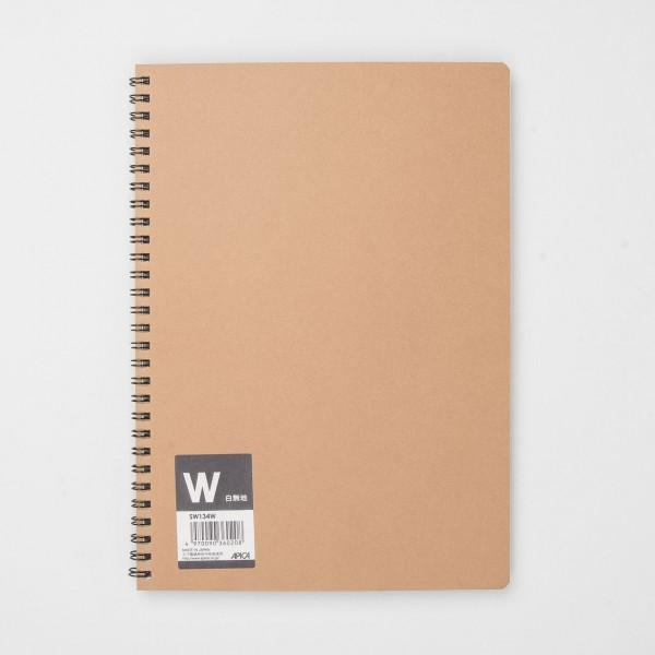 APICA Ringbuch SW134W blanko (B5)