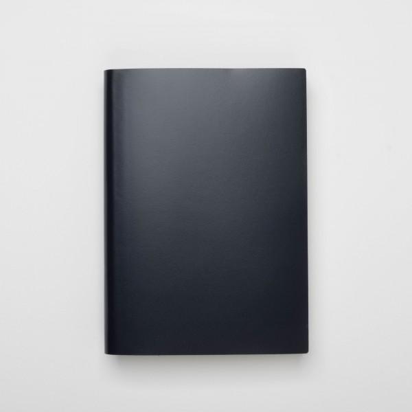 Pinetti Notizbuch A4 Kalbsleder blau