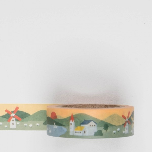 Dailylike Masking Tape 118 village
