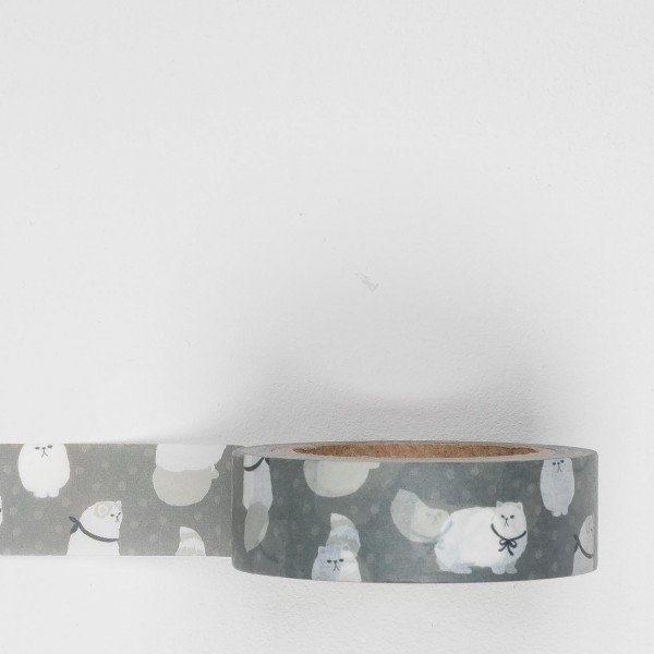 Dailylike Masking Tape 116 persion cat