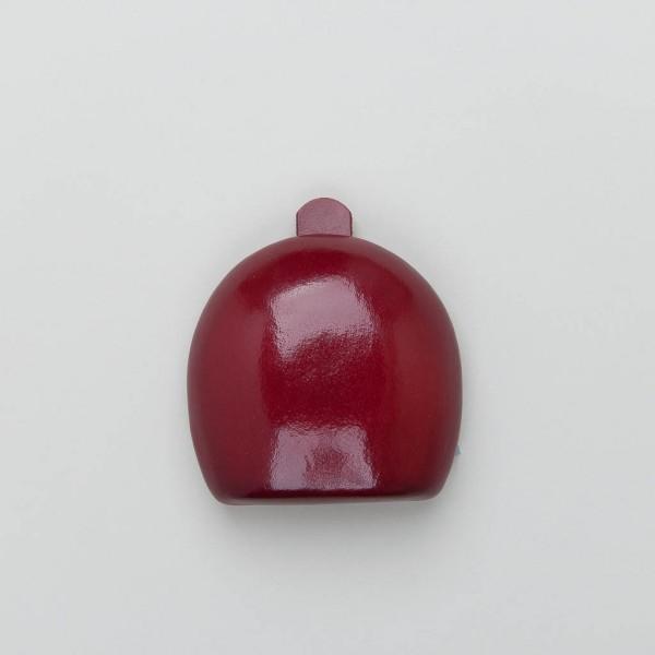 Leder-Schüttelbörse rot