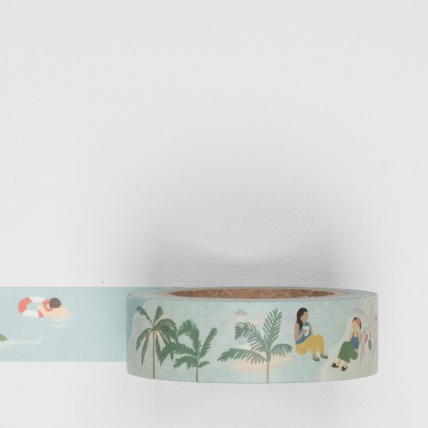 Dailylike Masking Tape 115 vacation