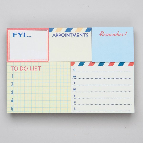 "Cavallini Papers & Co. Sticky Notes Haftnotizen ""To Do"""