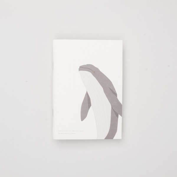 "Gongjang Heft ""Save Me File Note"" Whale"