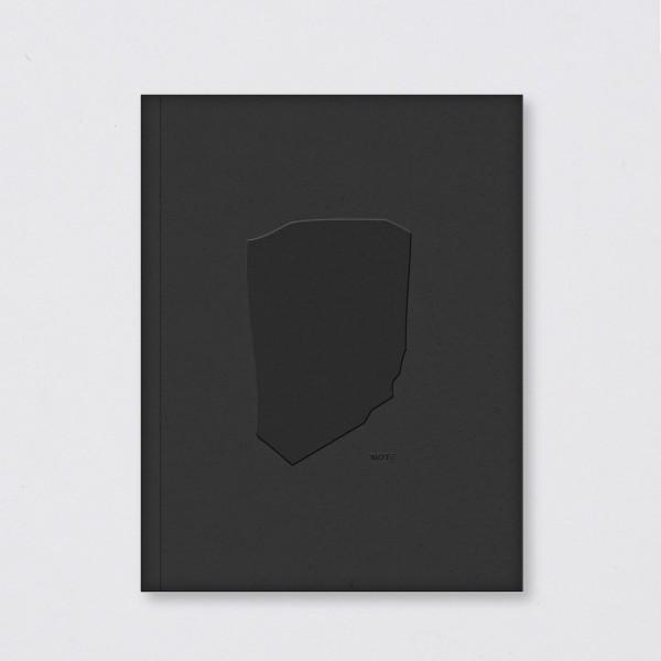Polnisches Notizbuch Monolit schwarz (A5)