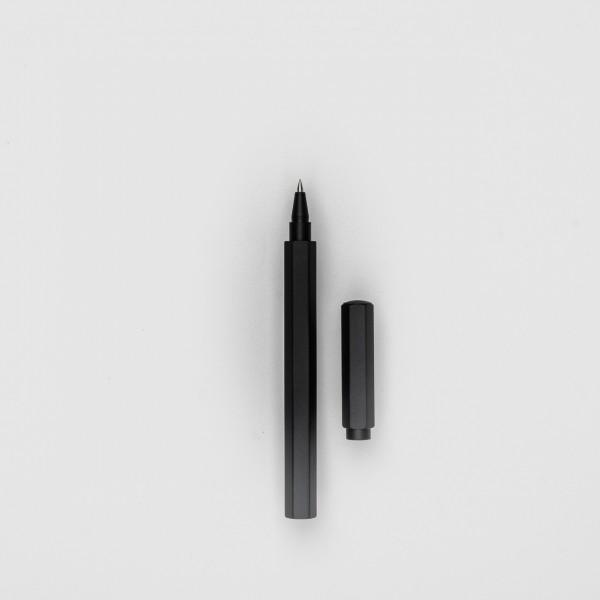 Diarge Tintenroller aus Messing schwarz